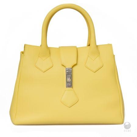 FERI Primavera Collection - Solar Purse - Yellow