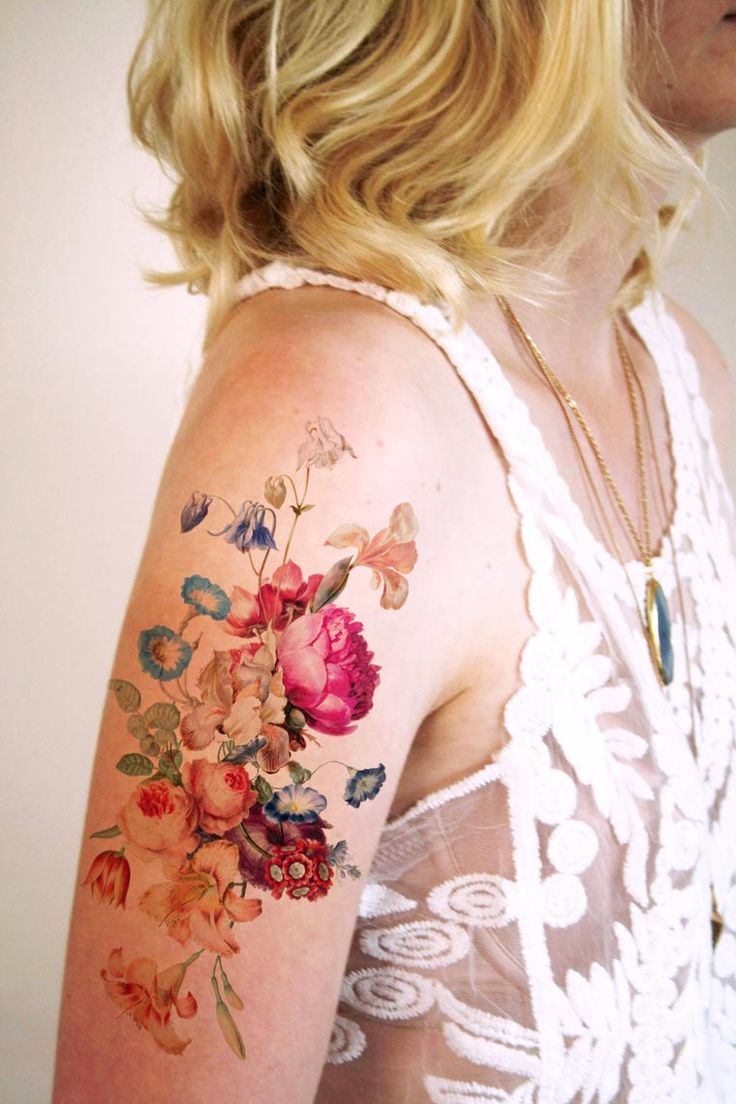 Tattoorary – The beautiful temporary tattoos by Wilma Boekholt (image)