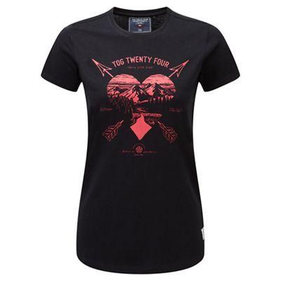 Tog 24 Black arrow heart nicky supersoft t-shirt | Debenhams