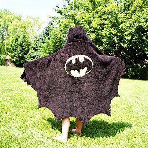 Bath towel capes - LOVE!