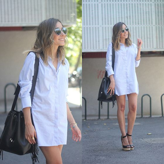 Get this look: http://lb.nu/look/7644374  More looks by Besugarandspice FV: http://lb.nu/besugarandspice  Items in this look:  Christian Dior Sunnies, Zara Dress, Uterqüe Bag   #casual #chic #street