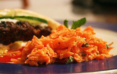 Carrot Salad #turkish #pennsic make the dressing at home