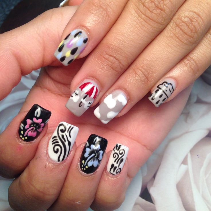 Nail Ideas For April: 83 Best My Nail Designs Images On Pinterest