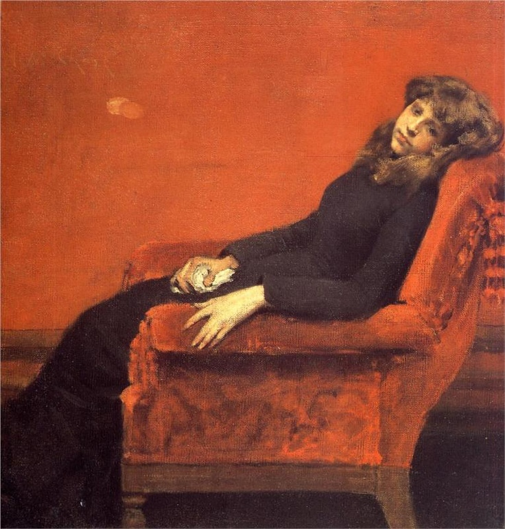 Study of a Young Girl,   William Merritt Chase