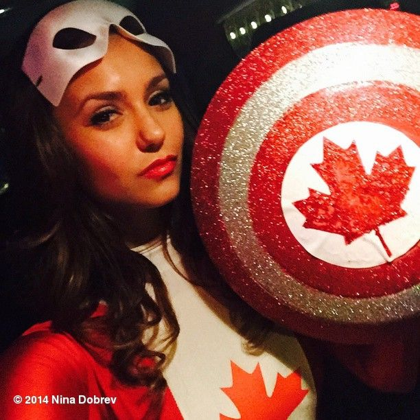 Captain America my ASS.  Its all about CAPTAIN CANADA.  Killing the villains with Kindness. #HAPPYHALLOWEEN #KindCampaign @laurenpaul8 #Padgram