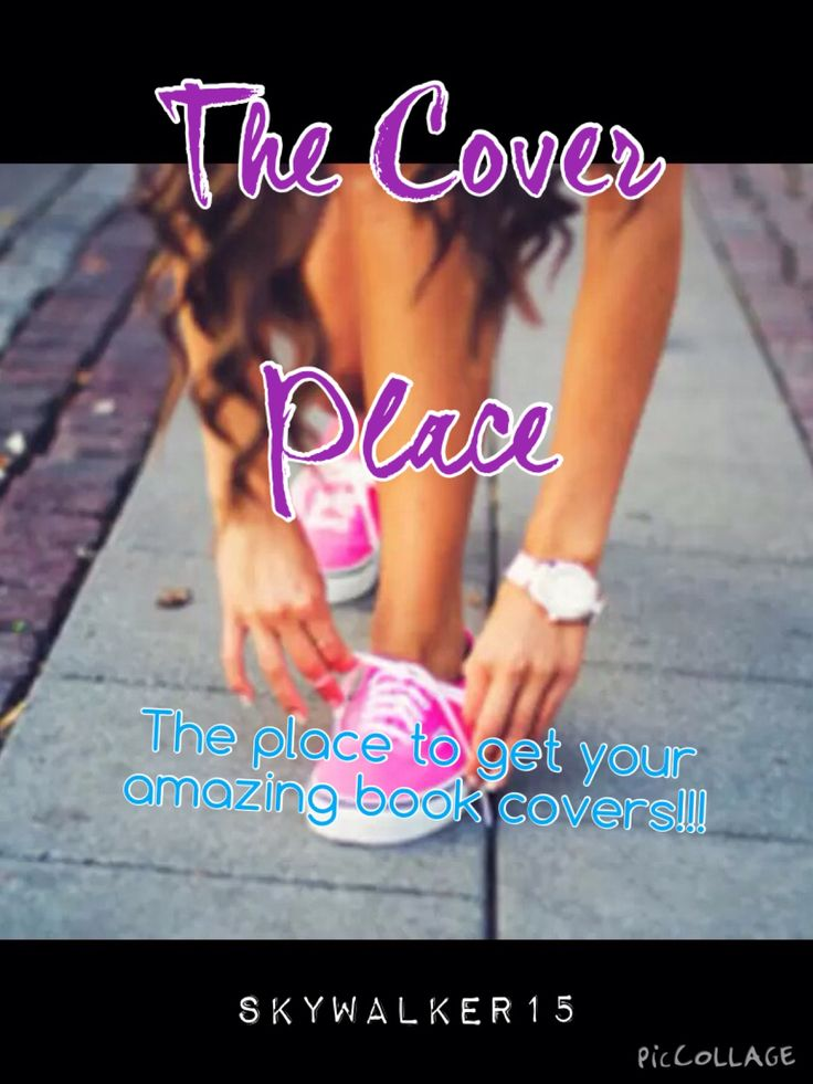 My book: Random: Cover maker book. The cover place is somewhere where can go to have a book cover made!!! So of you're looking somewhere to get a book cover done, this is the place to do it!!!  I will get your book cover to you as soon as I can!!!  Enjoy!!!!!