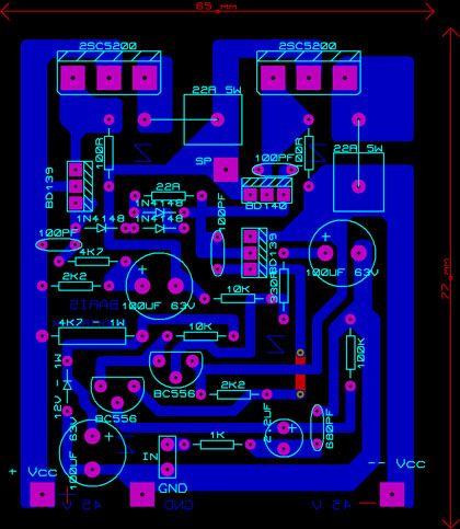 150w Mono Hi Fi Amplifier 2sc5200 Soundmania Amp Diy