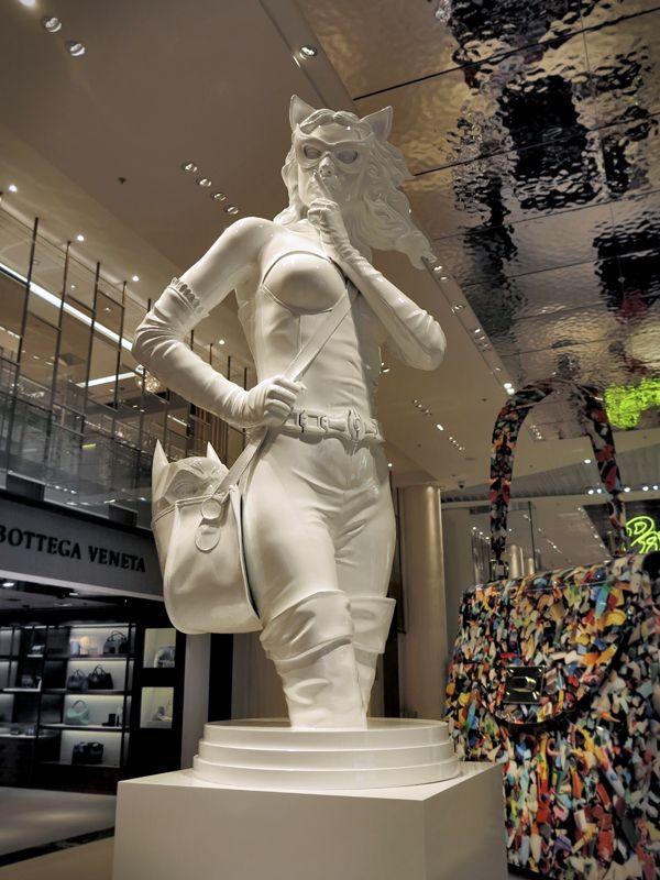 Pop The Bag exhibition, Printemps du Louvre Opening, author: Kordian Lewandowski, producer: van den blocke
