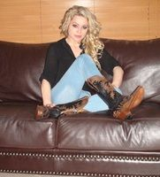 Lianie May looking stylish in her Amy Black's Lianie May in Gorgeous Amy Black Boots xx
