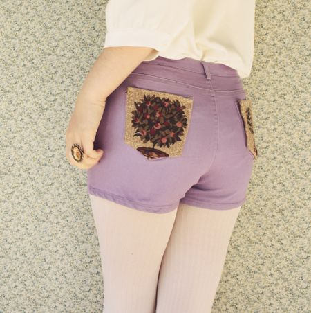 Tapestry Pocket Shorts