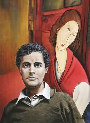 Amedeo Modigliani with Jeanne