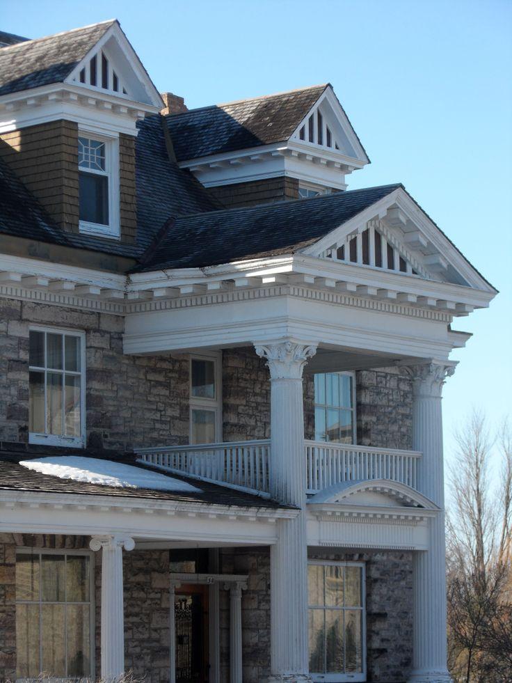 Crain House in Perth, Ontario