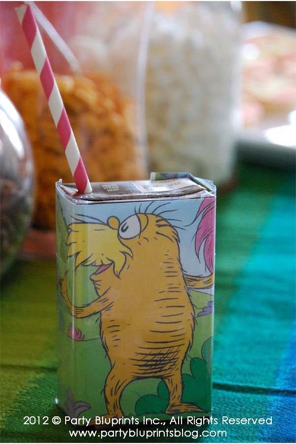 How cute to have a juice box cover!