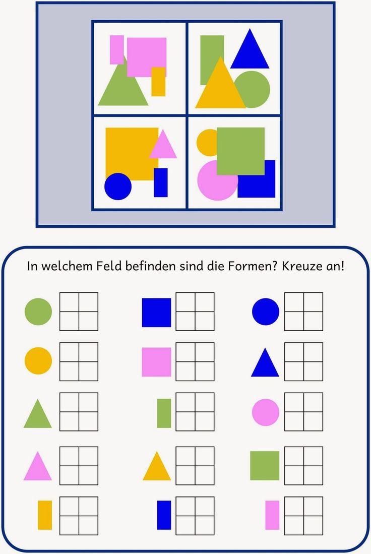 Lernstübchen: Raum-Lagebeziehung (2)