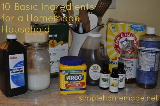 10 multipurpose ingredients for a homemade household