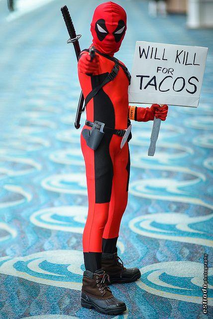 Deadpool, photo by Erik Estrada.                            I.........................Speechless. xD