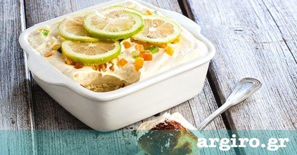Γλυκολέμονο ψυγείου από την Αργυρώ Μπαρμπαρίγου   Όταν μιλάμε για γλυκό ψυγείου με γέυση και άρωμα λεμόνι, τότε μιλάμε γι' αυτό το γλυκό! Φτιάξτε το!