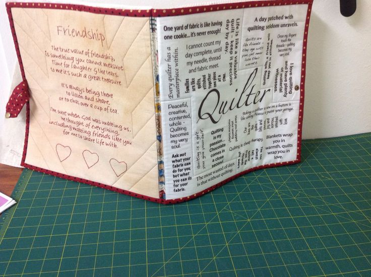 Block Book January 2016. Thank you Sonia and Kerry for the panel and stitchery.