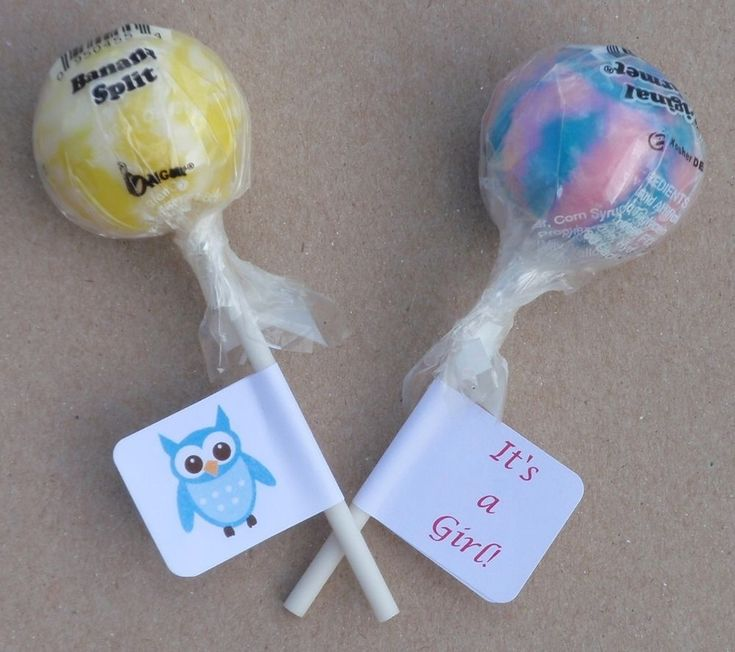 30 OWL THEME BABY SHOWER BOY/GIRL LOLLIPOP LABELS/STICKERS PARTY FAVORS  | Home & Garden, Greeting Cards & Party Supply, Party Supplies | eBay!