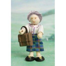Le toy van mevrouw davis. Ze is een strenge lerares.