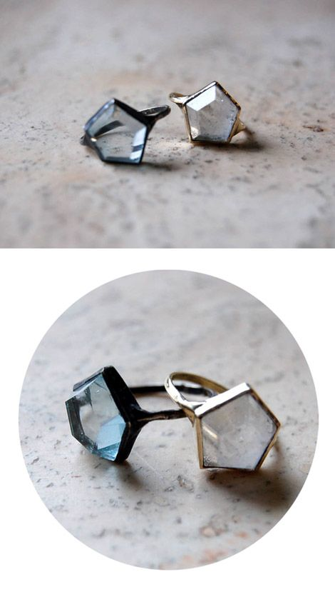 """aesa 3D hex ring"" ..keep seeing this pop up on pinterest, and every time my inner math nerd yells ""BUT IT'S A PENTAGON!"""