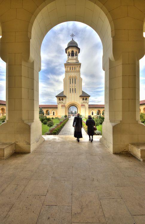 Reunification Cathedral in Alba Iulia, Romania.