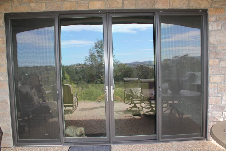 21 best images about projects supplied by general millwork for Marvin sliding screen door