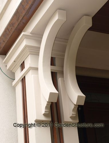 30 best images about corbels and brackets on pinterest - Exterior structural wood brackets ...