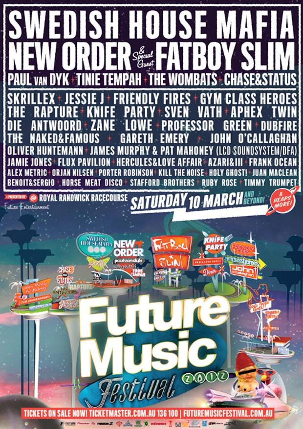 Future Music Festival - 2012 - Sydney Australia