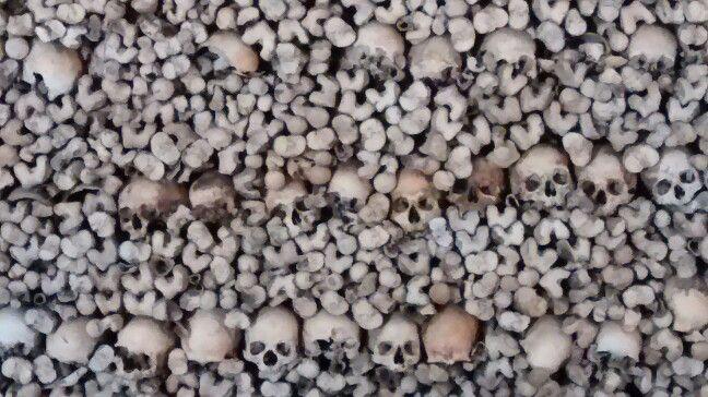 Nosotros los huesos que aquí estamos...por vosotros esperamos... No te pierdas esta visita en Evora