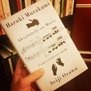 Anything Haruki Murakami touches is like water for a thirsty soul Absolutely on Music  just landed on my doorstep This is a new book that details conversations between Murakami and his friend Seiji Ozawa the former conductor of the Boston Symphony Orchestra about writing and music Ill be sure to share everything I learn