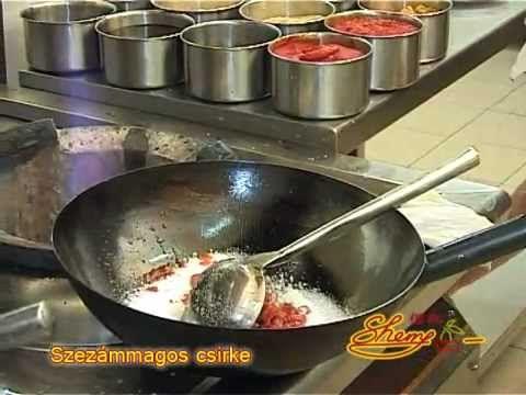 Sherry Étterem- és Kávézólánc - Szezámmagos csirke recept - chinese recipe