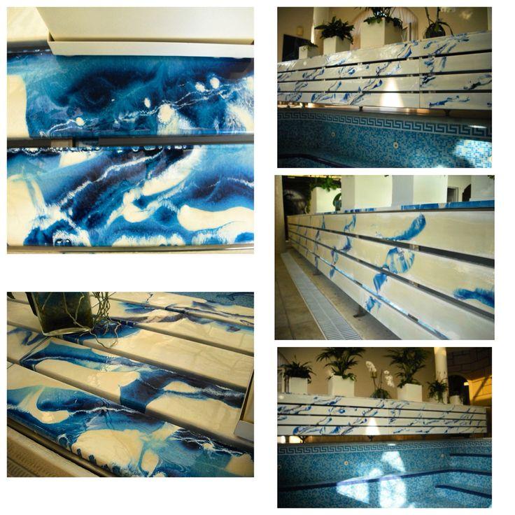 Resina autonivelante f5000 colorida aplicada em madeira for Resina elekta