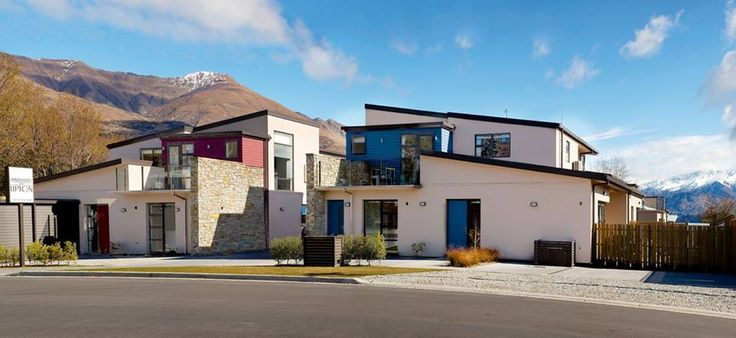 """Peak Apartments on Upton"" is Wanaka's brand new apartment complex with the ultimate in style and flexibility. The apartments are perfect for small or larger groups, wedding parties, families and anything in between."