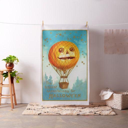 Globo de la linterna de Halloween Jack-O' del Telas