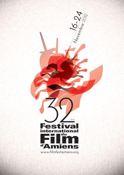 Poster officiel - 32° Festival International du Film d'Amiens