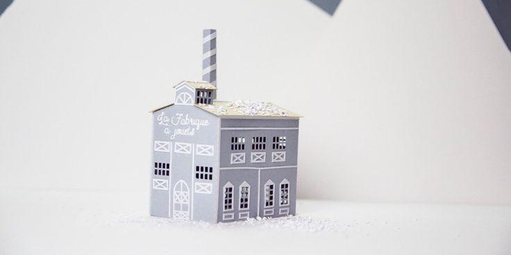 DIY de Noël, la fabrique à jouets Facile à faire, en famille, pour un effet magique sur votre déco de Noël Une création PAT, pour Créations Françaises, le blogzine de la création made in France