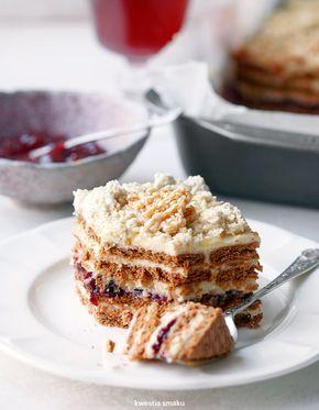 Ciasto chałwowe bez pieczenia