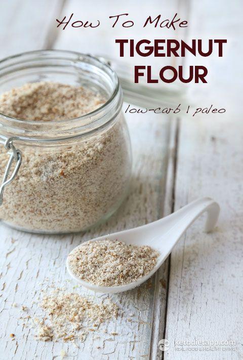 How To Make Tigernut Milk and Tigernut Flour (low-carb, keto, paleo, vegan)