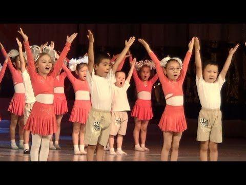 """Таберик: Танец малышей """"Детская дружба"""" (Отчетный концерт 2014, 3 отд. 4..."""