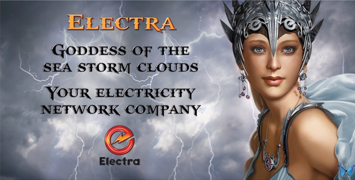 Electra New Zealand. Billboard Design by Luvly Ltd. www.luvly.co.nz