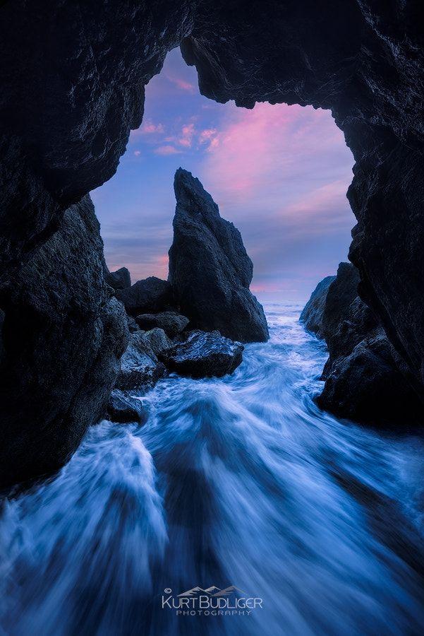 Rush to Twilight - Olympic National Park, WA  By Kurt Budlinger