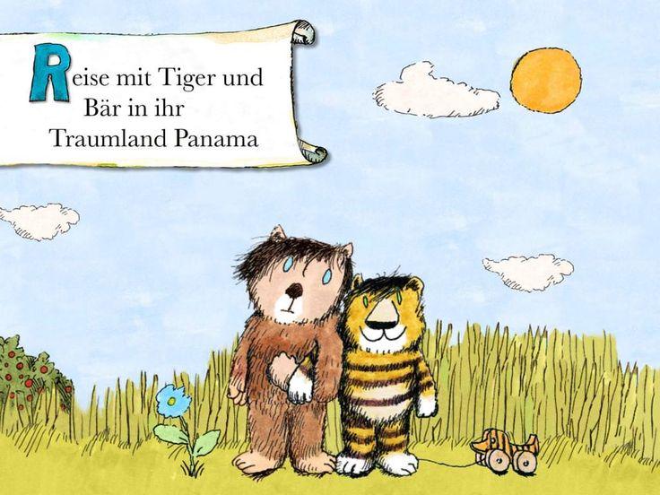 Janosch - Oh, wie schön ist Panama - Kinderbuch App für iPad, iPhone, Android, Kindle Fire