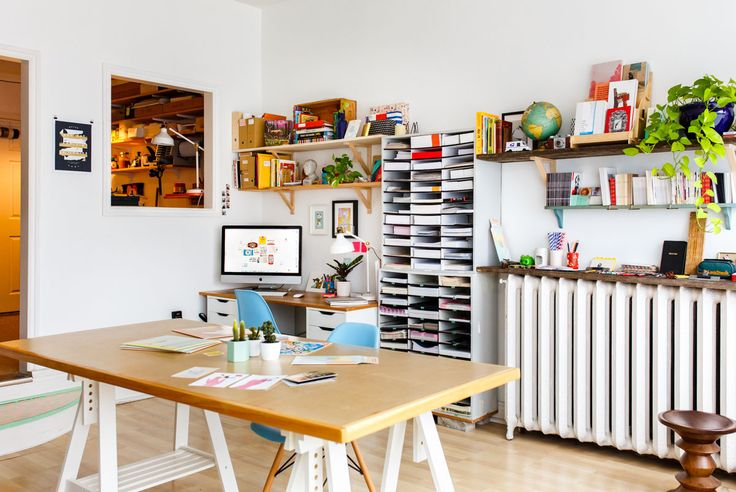 An inside look at the Papirmass studio!  #studio #whereiwork #workplace #makersgonnamake