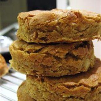Блонди с орехами, Мягкое печенье с грецкими орехами, из самых простых ингредиентов...