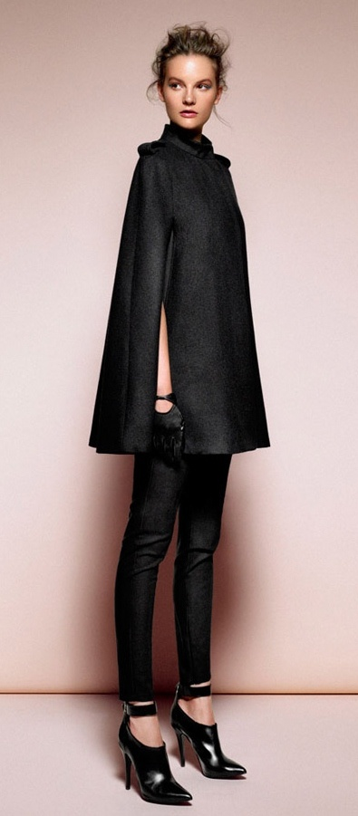 All black outfit ❤ Pinned on behalf of Pink Pad, the women's health mobile app with the built-in community