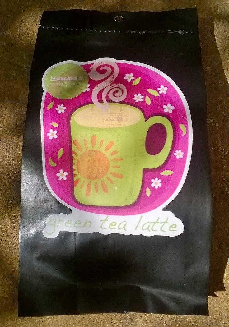 greentea latte powder made in Bandung Indonesia