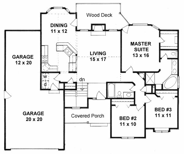 Floor plans for ranch home additions gurus floor for Ranch home addition floor plans
