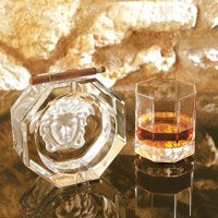 Rosenthal Versace Medusa Lumiere - finest high-quality crystal glass