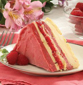 Recipe For Frozen Raspberry Layer Cake